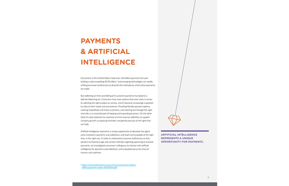 Artificial Intelligence in Consumer Payments