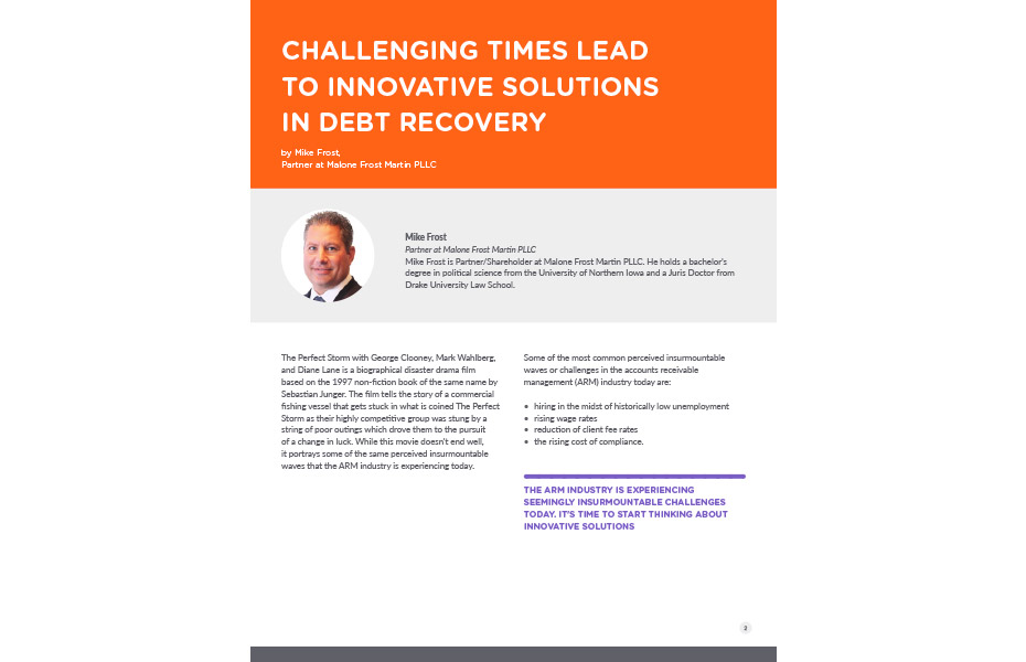 Solutions In Debt Recovery Preview